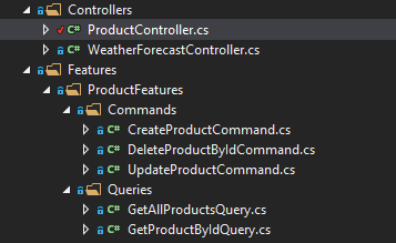 features folder api